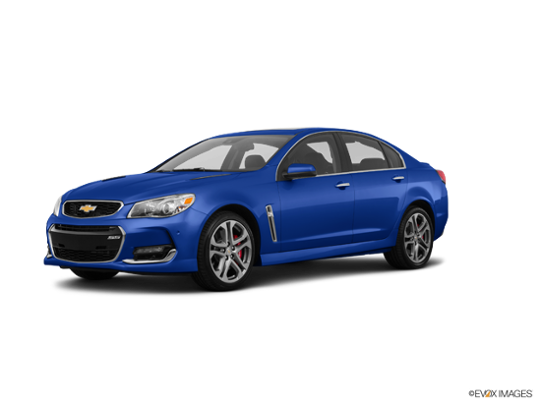 2016 Chevrolet SS in Slipstream Blue Metallic