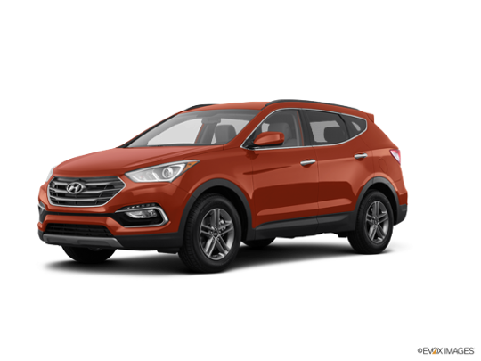 2017 Hyundai Santa Fe Sport in Canyon Copper