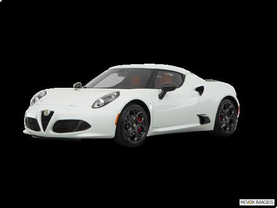 2016 Alfa Romeo 4C in White