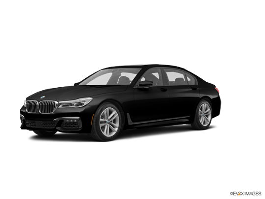 2016 BMW 750i in Jet Black