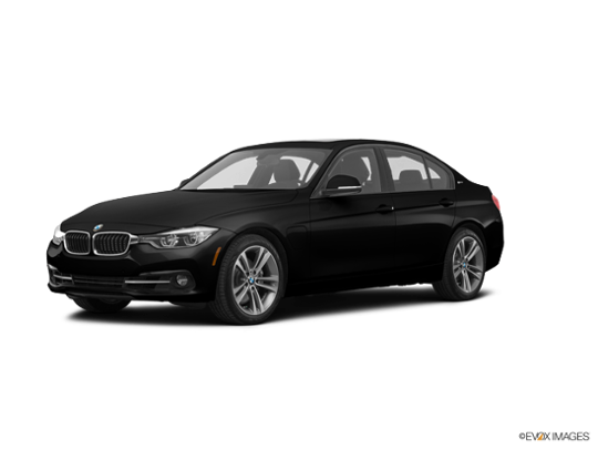 2016 BMW 330e in Jet Black