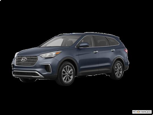 2017 Hyundai Santa Fe in Night Sky Pearl