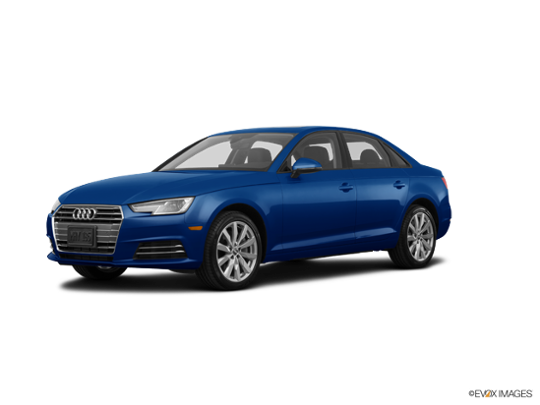 2017 Audi A4 in Scuba Blue Metallic