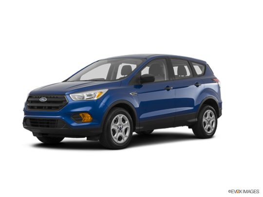 2017 Ford Escape in Lightning Blue Metallic