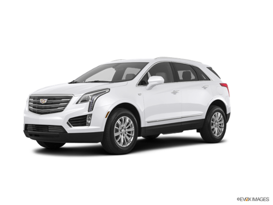 2017 Cadillac XT5 in Crystal White Tricoat