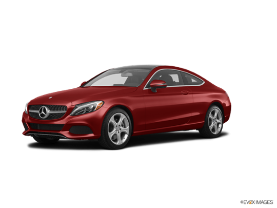 2017 Mercedes-Benz C-Class in designo Cardinal Red Metallic