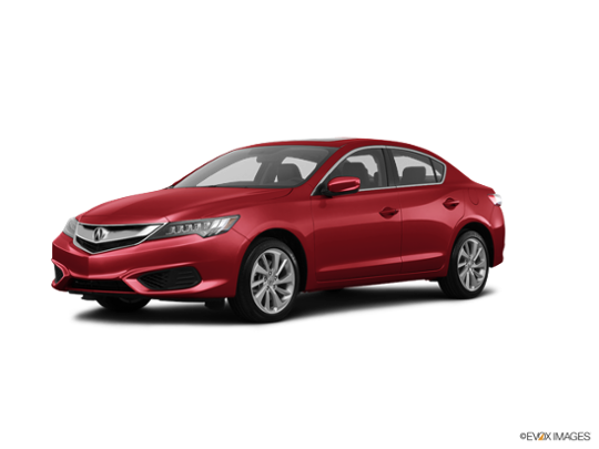 2017 Acura ILX in San Marino Red