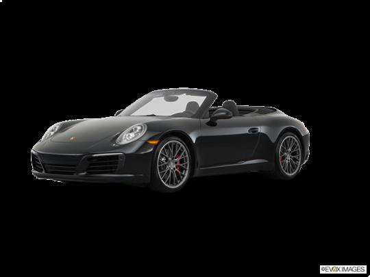 2017 Porsche 911 in Black