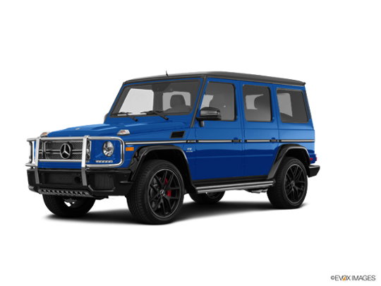2016 Mercedes-Benz G-Class in designo Mauritius Blue Metallic