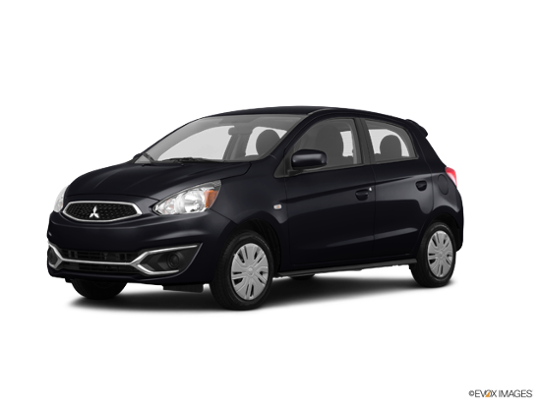 2017 Mitsubishi Mirage in Mystic Black