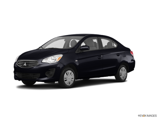 2017 Mitsubishi Mirage G4 in Mystic Black