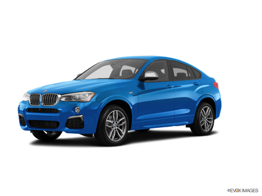 2017 BMW X4 M in Long Beach Blue Metallic