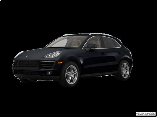 2017 Porsche Macan in Black