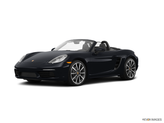 2017 Porsche 718 Boxster in Black