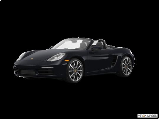 2017 Porsche 718 Boxster in Black
