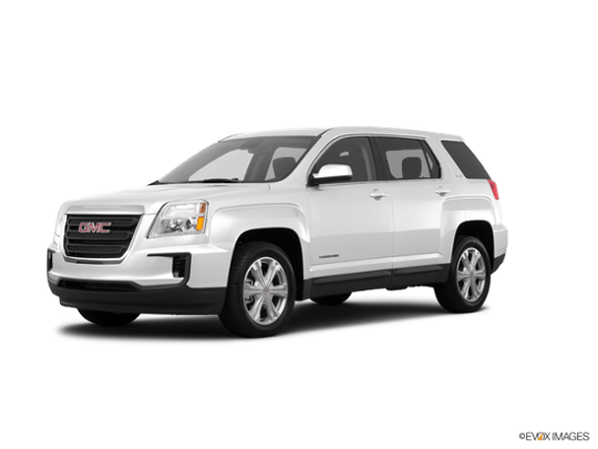 2017 GMC Terrain in Summit White