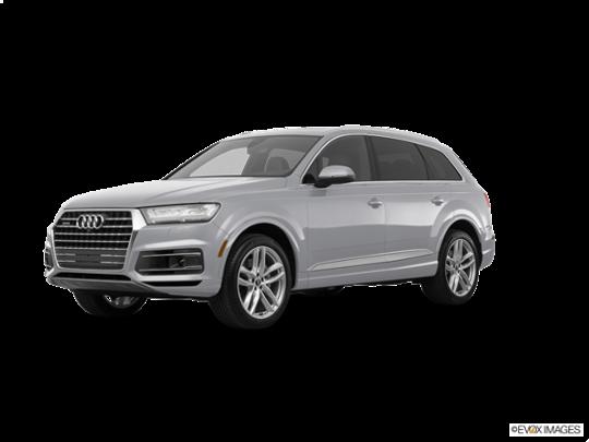 2017 Audi Q7 in Florett Silver Metallic