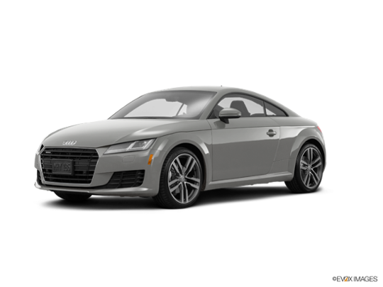2017 Audi TT Coupe in Florett Silver Metallic