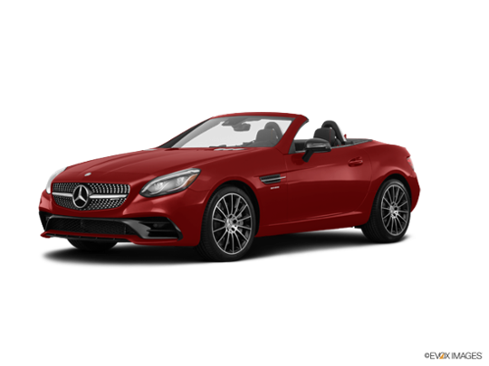 2017 Mercedes-Benz SLC in designo Cardinal Red Metallic