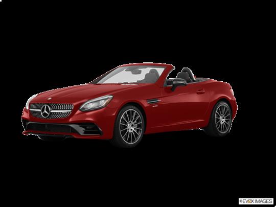 2017 Mercedes-Benz SLC in designo Cardinal Red Metallic