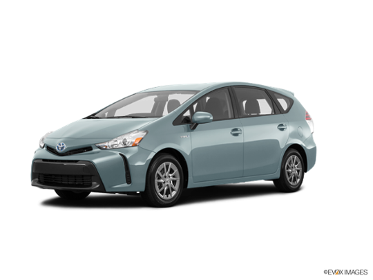 2017 Toyota Prius v in Sea Glass Pearl