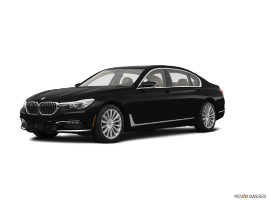 2017 BMW 740i xDrive in Jet Black