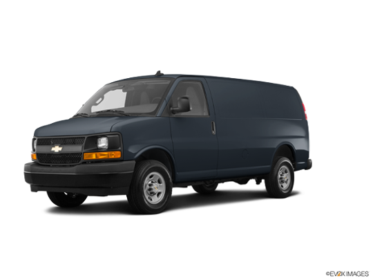 2017 Chevrolet Express Cargo Van in Cyber Gray Metallic