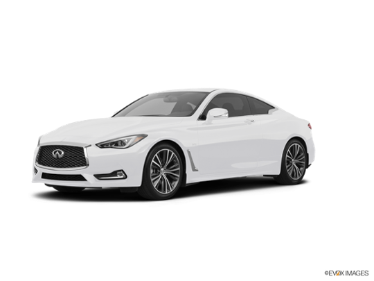2017 INFINITI Q60 in Pure White