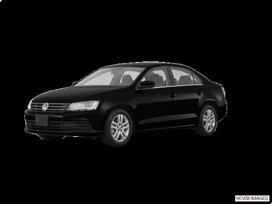 2017 Volkswagen Jetta in Black