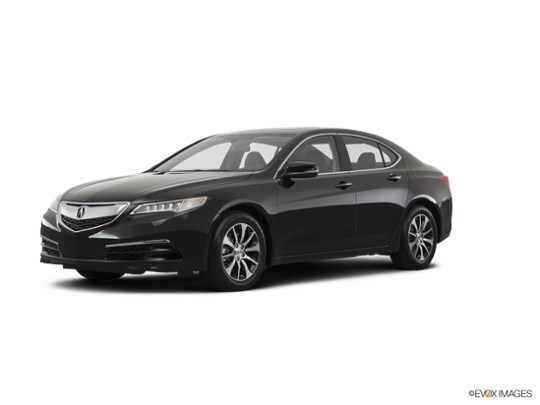 2017 Acura TLX in Crystal Black Pearl