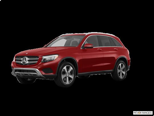 2017 Mercedes-Benz GLC in designo Cardinal Red Metallic