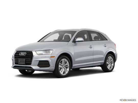 2017 Audi Q3 in Florett Silver Metallic