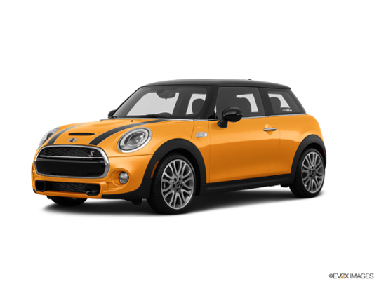 2017 MINI Cooper Hardtop in Volcanic Orange