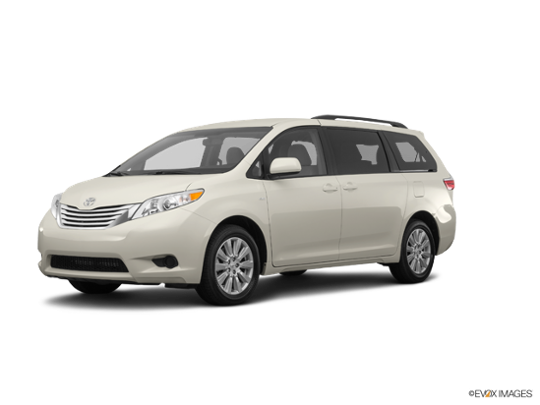 2017 Toyota Sienna in Creme Brulee Mica