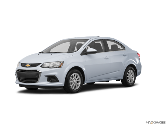 2017 Chevrolet Sonic in Arctic Blue Metallic
