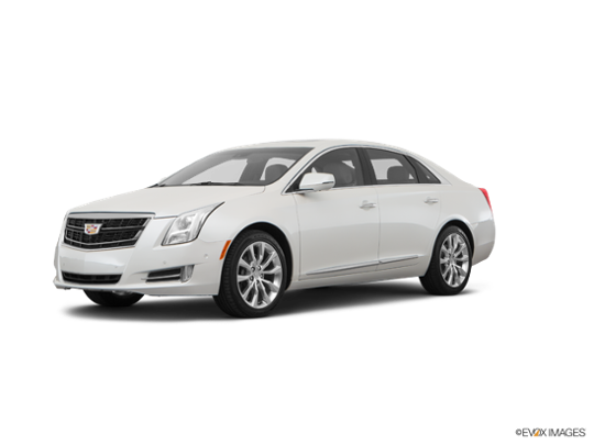 2017 Cadillac XTS in Crystal White Tricoat