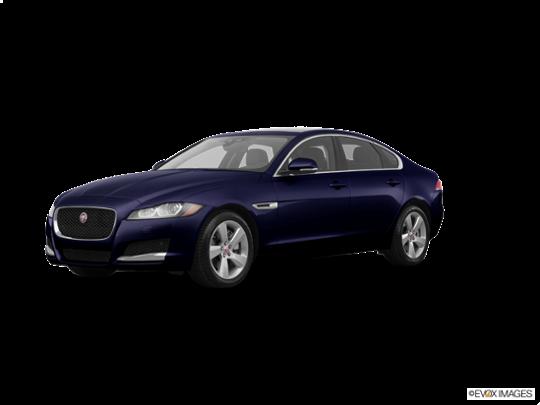 2017 Jaguar XF in Dark Sapphire Metallic