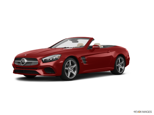 2017 Mercedes-Benz SL in designo Cardinal Red Metallic