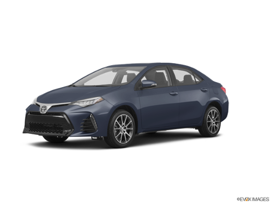 2017 Toyota Corolla in Slate Metallic