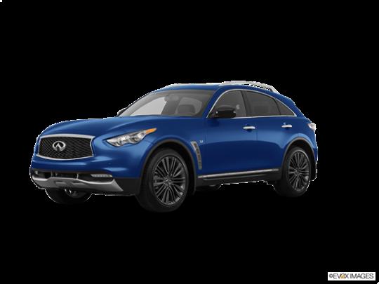 2017 Infiniti QX70 in Iridium Blue