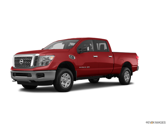 2017 Nissan Titan XD in Cayenne Red
