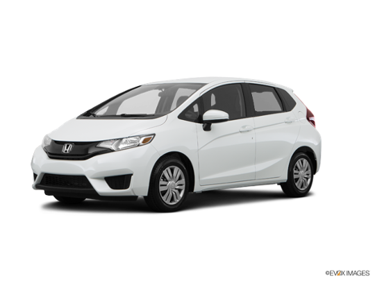 2017 Honda Fit in White Orchid Pearl