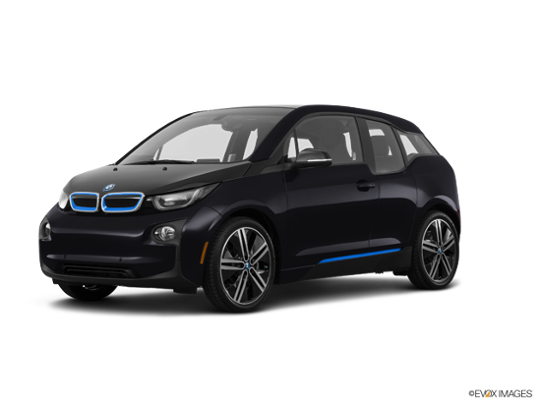 2017 BMW i3 in Fluid Black w/Highlight BMW i Blue