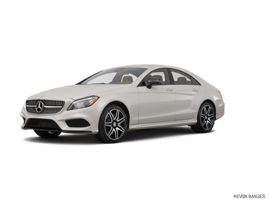 2017 Mercedes-Benz CLS in designo Magno Cashmere White (Matte Finish)