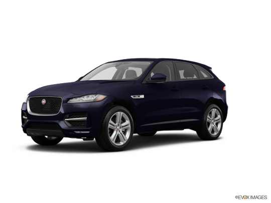 2017 Jaguar F-PACE in Dark Sapphire Metallic