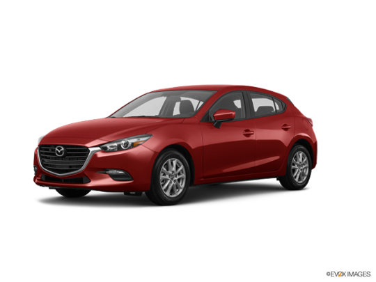 2017 Mazda Mazda3 5-Door in Soul Red Metallic