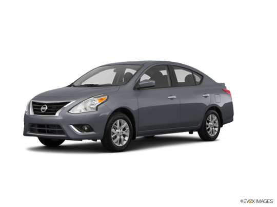 2017 Nissan Versa Sedan in Gun Metallic