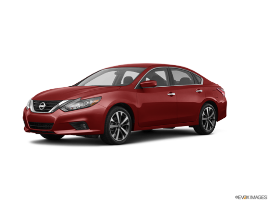 2017 Nissan Altima in Cayenne Red