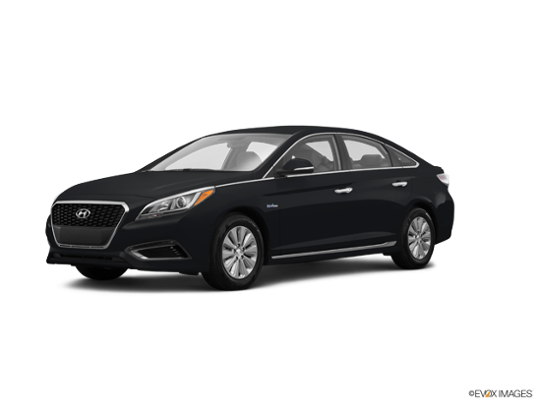 2017 Hyundai Sonata Hybrid in Eclipse Black