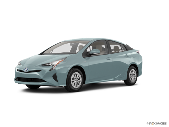 2017 Toyota Prius in Sea Glass Pearl